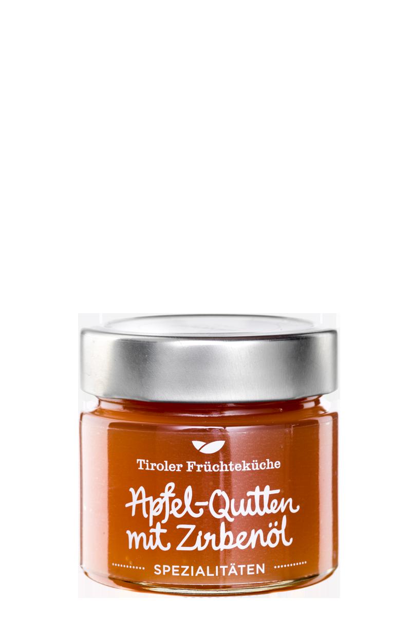 Apfel-Quitte Fruchtaufstrich mit Zirbenöl